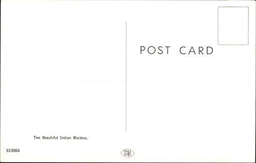 Buy indian maiden postcard