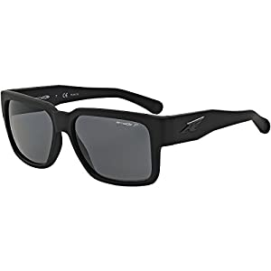 Arnette Supplier Unisex Polarized Sunglasses - 447/81 Fuzzy Black/Grey