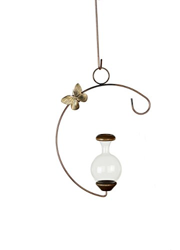 Hanging Butterfly Brass (The Brass Butterfly Hanging C-Shaped Planters)