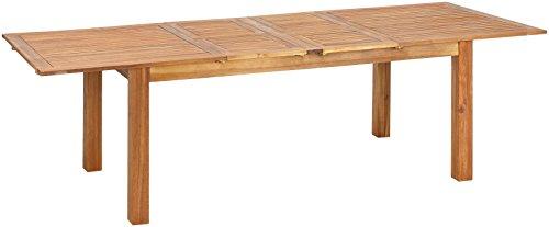 greemotion Table de jardin extensible Borkum - Table de jardin avec ...