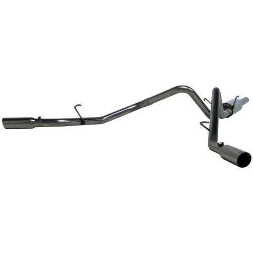 MBRP S5114304 T304 Stainless Steel Dual Split Side Cat Back Exhaust ()