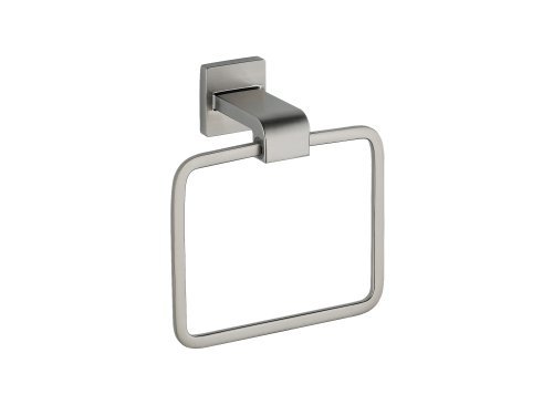 Delta 77546-SS Ara Towel Ring, Brilliance Stainless Steel by DELTA FAUCET