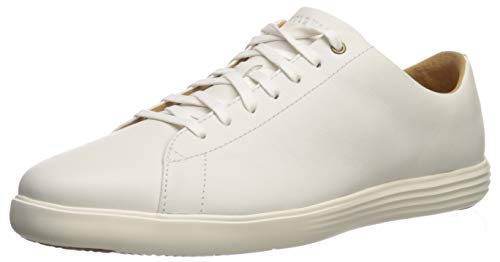 Cole Haan Men's Grand Crosscourt II Sneaker, White Leather, US 11.5W