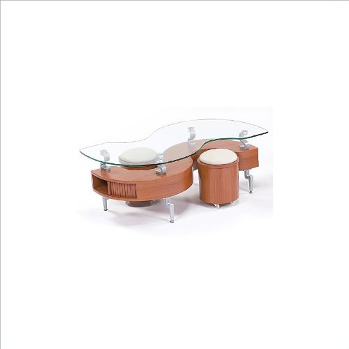 global-furniture-usa-t288-cherry-occasional-coffee-table-with-silver-legs