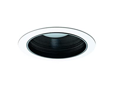 NICOR Lighting 17503 Baffle with Single Piece Trim for 17000 and 17001R 6-Inch Non IC