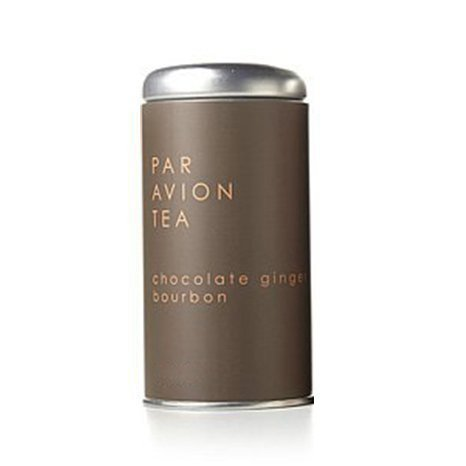 Par Avion Chocolate Ginger Bourbon Tea Sachets in Artisan Tin