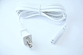 OMNIHIL 5 Feet Long AC Power Cord Compatible with JVC Compact Stereo System Radio CD Players UL Listed