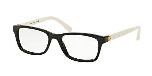 Tory Burch TY2061 Eyeglass Frames 3149-51 - Black Ivory