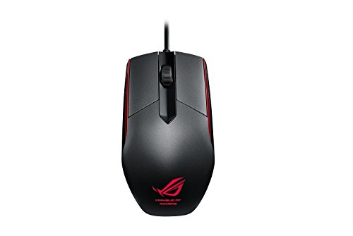 ASUS ROG SICA Gaming Mouse, A Weapon for Champions of The Light, Black