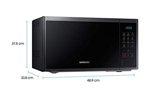 Samsung 23 L Solo Microwave Oven (MS23J5133AG/TL, Black)