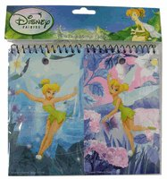 Two Pack Tinker Bell Memo Pads - Stationery