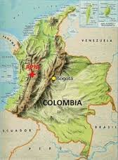 Colombian unroasted Coffee Beans