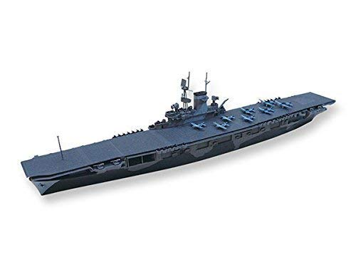 Aoshima 1//700 Water Line No.715 U.S.S Aircraft Carrier WASP Model Kit Japan Impo