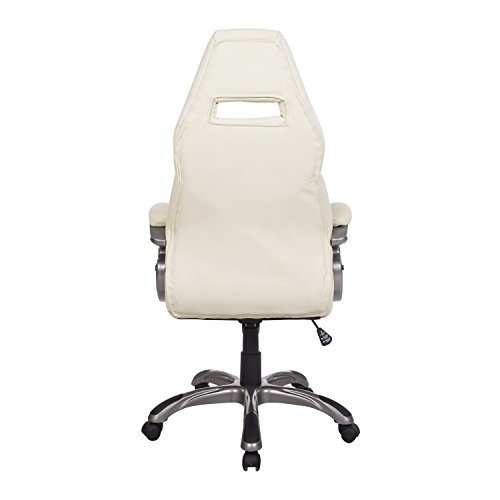 Off white office chair Thehathorlegacy Amazoncom Homcom Race Car Style Pu Leather Office Chair Off White Health Personal Care Amazoncom Amazoncom Homcom Race Car Style Pu Leather Office Chair Off