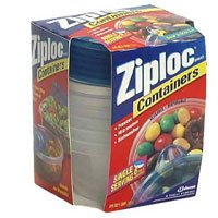 Ziploc Containers with Snap 'N Seal Lid, Extra Small, Case Pack, Six - 6 Count Packs (36 Bowls)