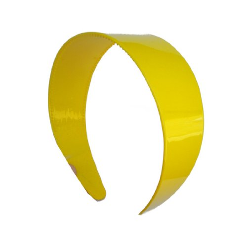 Yellow Hard Plastic Headband