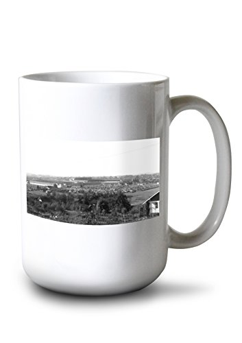 Lantern Press Puyallup, Washington - Western WA State Fair (15oz White Ceramic Mug) ()