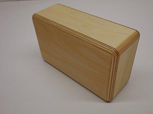 Lightweight Yoga Block Wood