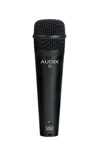 Audix F5 Instrument Dynamic Microphone, Hyper-Cardioid