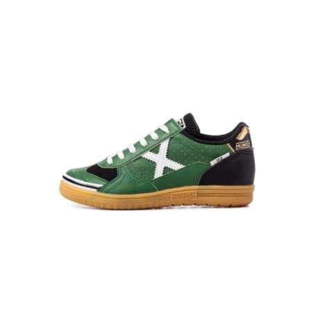 Munich G3 Kid Zapatilla Niño futbol sala Verde: Amazon.es: Zapatos y complementos
