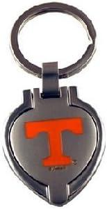 Metal//Chrome Siskiyou NCAA Tennessee Volunteers Key Chain