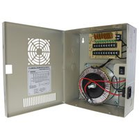 24V AC Power Distribution Box, 9 Ports, 9 Amps, PTC Fuses, UL / cUL - Distributed by NAC Wire and Cables