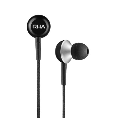 RHA MA350 Aluminium Noise Isolating In-Ear Headphone - 3 year warranty