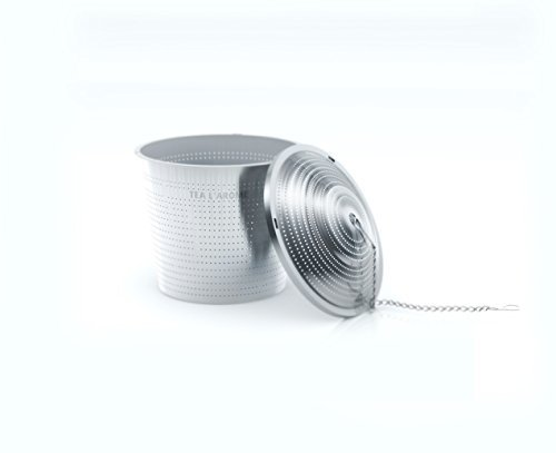 Tea L'Arome Stainless Steel Loose Leaf Tea Strainer, Retail Package