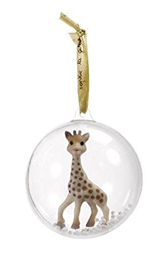 Christmas Gifts, Sophie The Giraffe Baby's First Christmas Ornament Ball Vulli