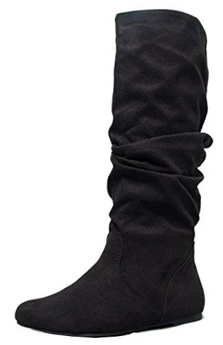 Soda  (Black Womens Boots)