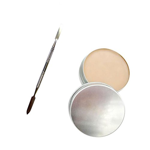 Frcolor Halloween Makeup Wax, Fake Scar Wound Skin Wax Body Face Painting Makeup with Spatula Tool