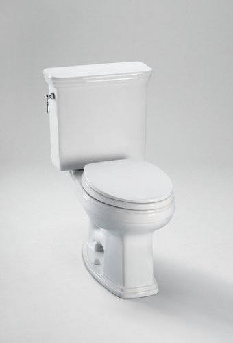 Promenade 1.6 GPF Round 2 Piece Toilet Toilet Finish: Bone