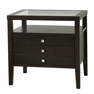 Aristo Brown Side Table This Elegant End