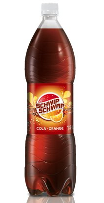 German Schwip Schwap Cola + Orange 6 X 1,5 Liter