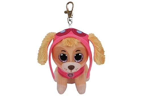 T&Y Ty Paw Patrol SKYE - Cockapoo Dog clip Plush Key Chain