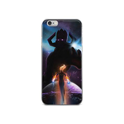 iPhone 6/6s Pure Anti-Shock Case Captain Carol Denvers Brie Larson Vs Galactus Stan Lee Movie Shield Avengerss Comic Superhero