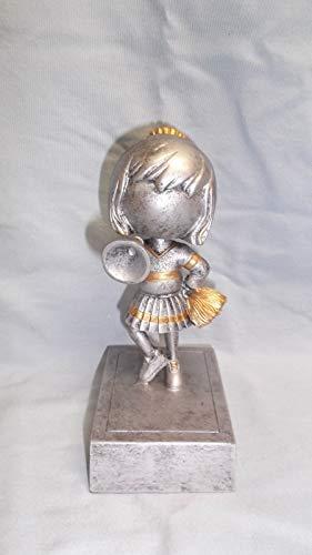 Cheerleading bobblehead Trophy Resin Award PDU 52506GS