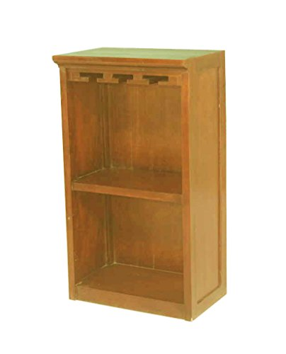 East at Main's Mahogany Nappa Cabinet Top (18X14X34) - Nappa Natural