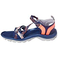 Forclaz Arpenaz 100 Women's Backpacking Sandal - Blue Pink