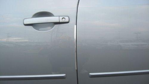 312 Motoring fits 2006-2012 BUICK LUCERNE CHROME DOOR EDGE TRIM MOLDING PROTECTORS 4 QTY OF 8 2007 2008 2009 2010 2011 06 07 08 09 10 11 12