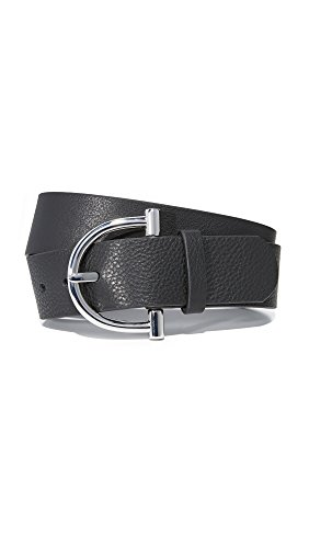 B-Low The Belt Women's Blake Belt, Black/Silver, Large by B-Low the Belt