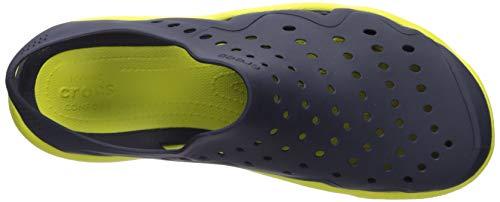 Crocs Men's Swiftwater Wave M Water Shoe Navy/Citrus 4 M US by Crocs (Image #9)