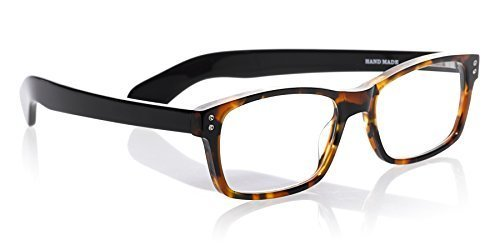 eyebobs Roy D, 2890 19, Tortoise and Black, +2.50 Reading Glasses by eyebobs, LLC by EyeBobs