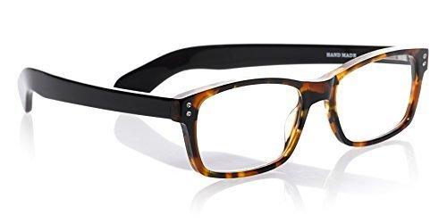 eyebobs Roy D, 2890 19, Tortoise and Black, +2.50 Reading Glasses by eyebobs, LLC