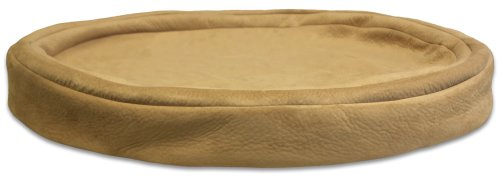 Gel-Pedic Toy Ultra-Soft Suede Pet Bed Cover, Sand (Gel Pedic Pet Bed Cover)