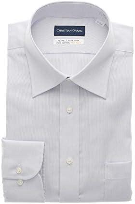[CHRISTIAN ORANI] ワイドカラースタンダードワイシャツ オールシーズン用 LTC2503E