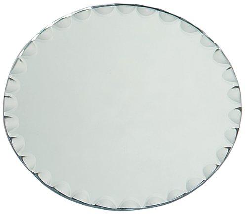 Darice Round with Scallop Edge-8 inches Mirror, 8