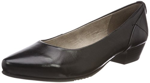 Jana Damen 22200 Pumps schwarz (black nappa)