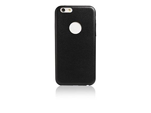 Spada Back Case - Lederlook - iPhone 6 Plus - Schwarz