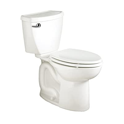 American Standard 270CB001.020 Cadet 3 Elongated Two-Piece Toilet with 10-Inch Rough-In, White